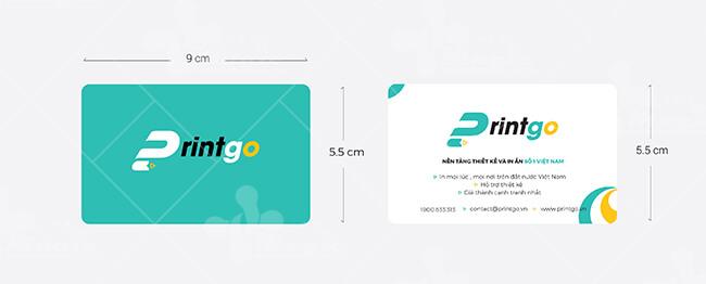 Kích thước namecard visit chuẩn trong thiết kế corel hay illustrator (AI)