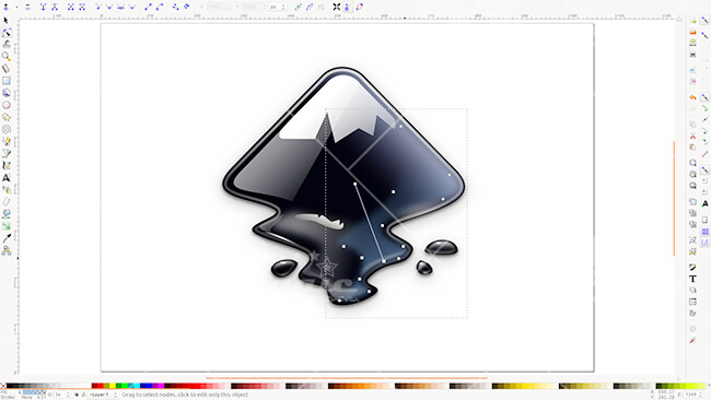 Phầm mềm thiết kế logo onlineInkscape