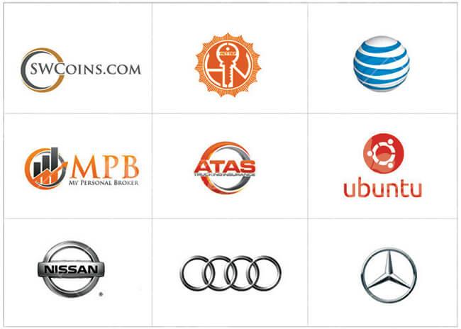 Thiết kế logo dành chủ doanh nghiệp mệnh kim